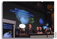 'New Horizons News Conference - Capturing the Heart of Pluto' from the web at 'http://images.spaceref.com/news/2015/pluto_frozen_plains_and_more_071715_200.jpg'