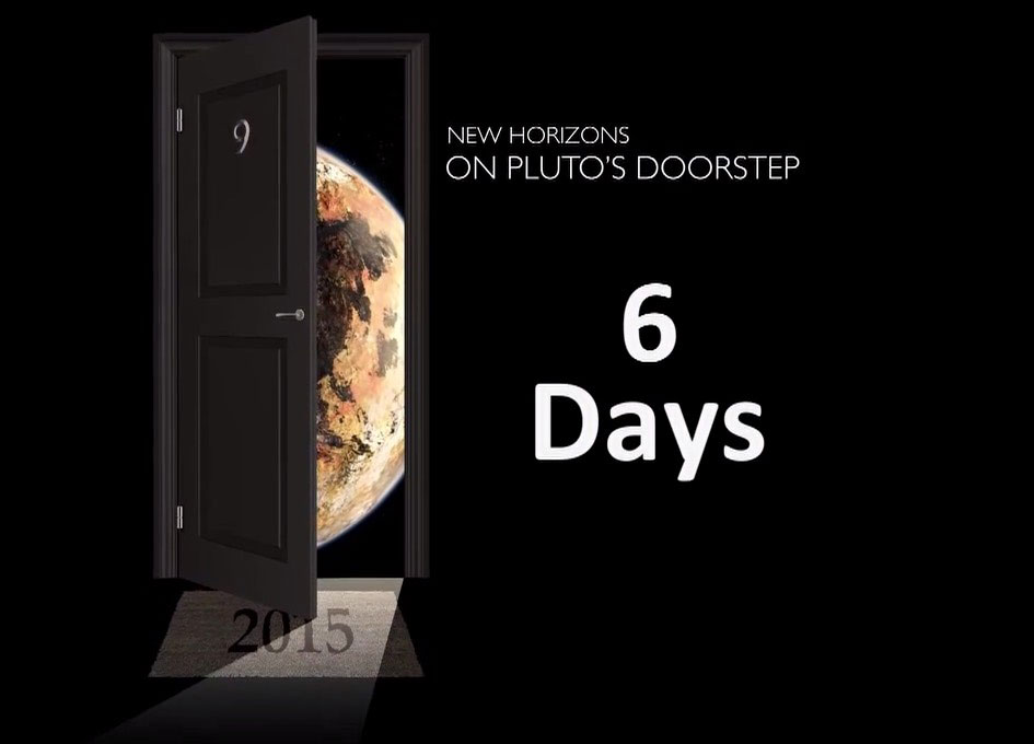 Countdown to Pluto Mission Update: July 8 2015 - SpaceRef