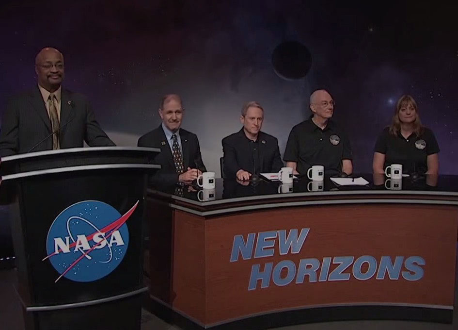 Countdown to Pluto Mission Update: July 13 2015 - SpaceRef