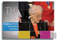 This Week at NASA: Presidential Medal of Freedom Ceremony and More