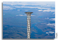 A Different Concept for a Space Elevator Emerges