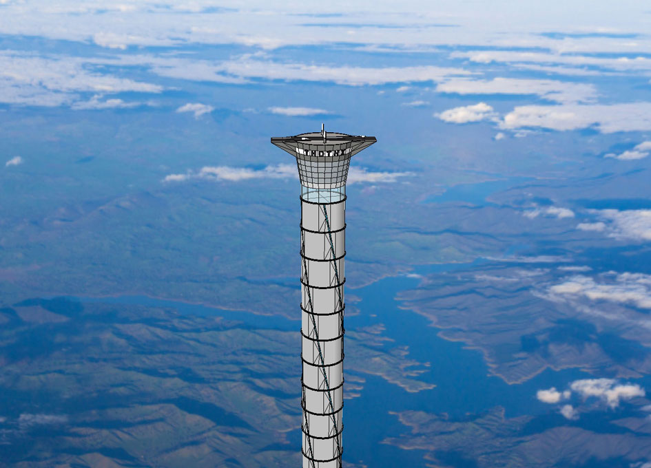 Thoth Technology Inc Space Elevator