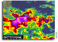 IMERG Measures Hurricane Earl's Deadly Rainfall in Mexico