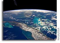 Cuba, Florida and the Bahamas As Seen From Orbit