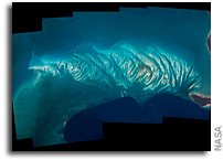 Bahamas Islands Seen From Orbit
