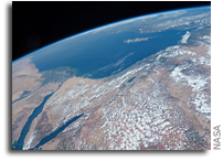 The Middle East As Seen From The Space Station