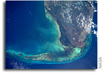 Florida Keys As Seen From Orbit