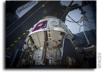 SpaceX Crewed Dragon Undergoes Load Testing