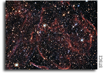 Supernova DEM L316A As Seen By Hubble