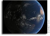 Orbital View of Hurricane Matthew