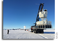 Second NASA Balloon Flight in Antarctica