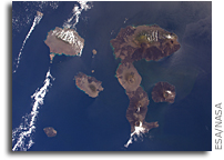 Galapagos Islands Seen From Orbit