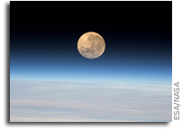 Moonrise In Earth Orbit