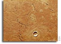 Adamas Labyrinthus on Mars