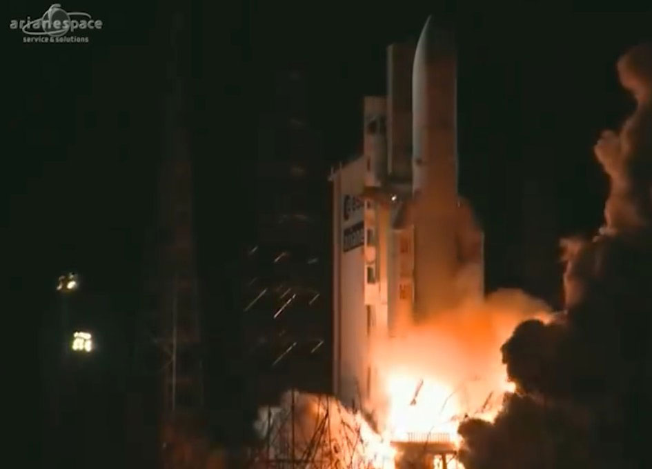 Arianespace Launches Intelsat 33e and Intelsat 36