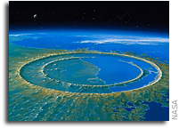 Site of Asteroid Impact Changed the History of Life on Earth