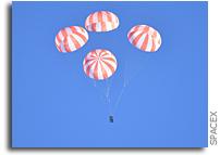 SpaceX Tests Crew Dragon Parachutes