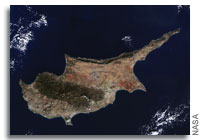 Earth from Space: Cyprus