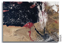 Earth from Space: Egypt's River Nile and Delta
