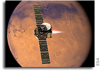 Trace Gas Orbiter Arrives At Mars But Schiaparelli's Fate Uncertain