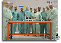 Fly Your Satellite CubeSats Arrive at Kourou Spaceport