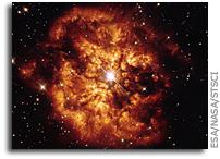 Hubble's View of M1-67 Nebula