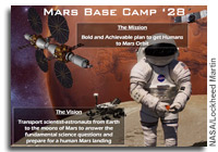 NASA FISO Presentation: Mars Science Enabled by the Mars Base Camp 2028 Proposed Architecture