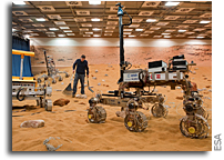 Tim Peake Will Drive A Mars Rover On Earth - From Space