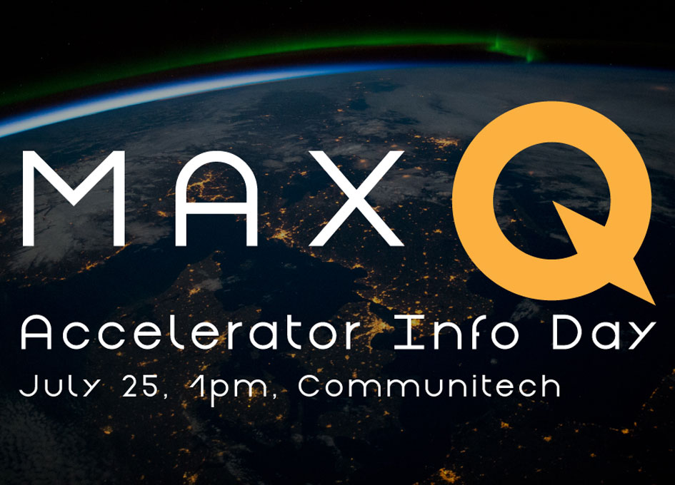 MaxQ invites Startups to Info Day