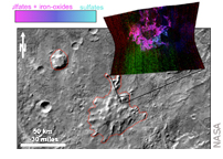 Clues about Volcanoes Under Ice on Ancient Mars