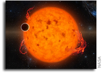 Kepler Finds Newborn Exoplanet Around Young Star