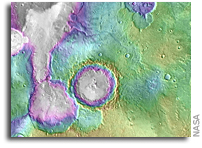 Some Ancient Martian Lakes Came Long After Others