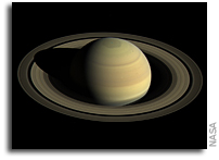 Length Of Saturn's Rotation Determined - 10:33:38