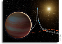 Space Telescopes Pinpoint Elusive Brown Dwarf