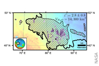 Mars Ice Deposit Holds as Much Water as Lake Superior