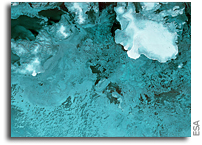 First Image From Sentinel-1B: Svalbard