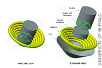Students Design Inflatable Heat Shield for NASA Mars Mission Contest