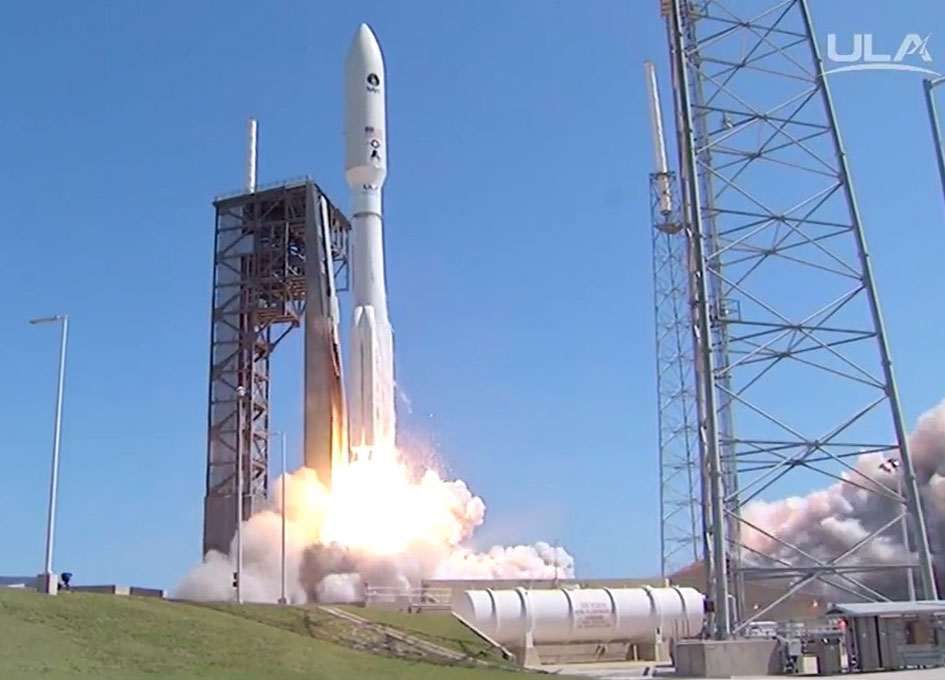 ULA Atlas V Launches Navy's MOUS-5 Satellite