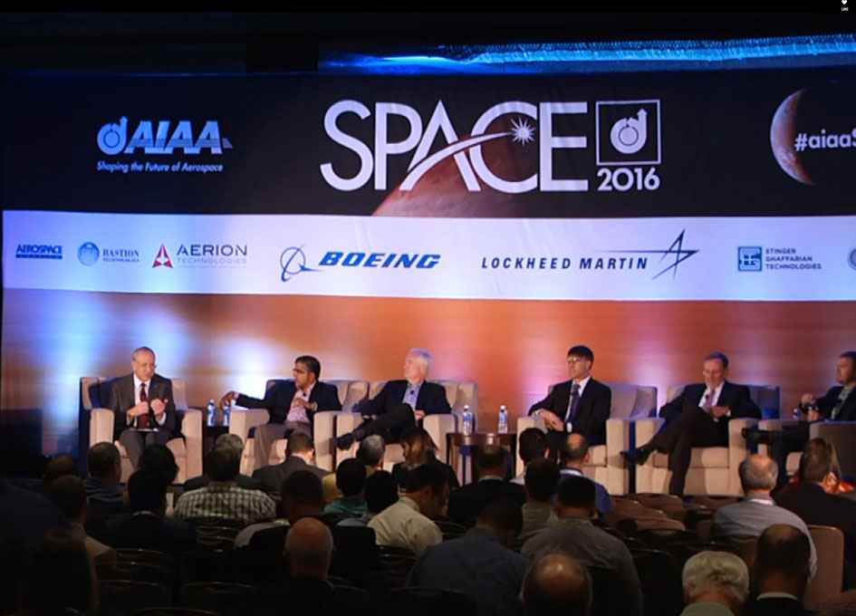 Video - AIAA Space 2016: Technologies for the New LEO Economy