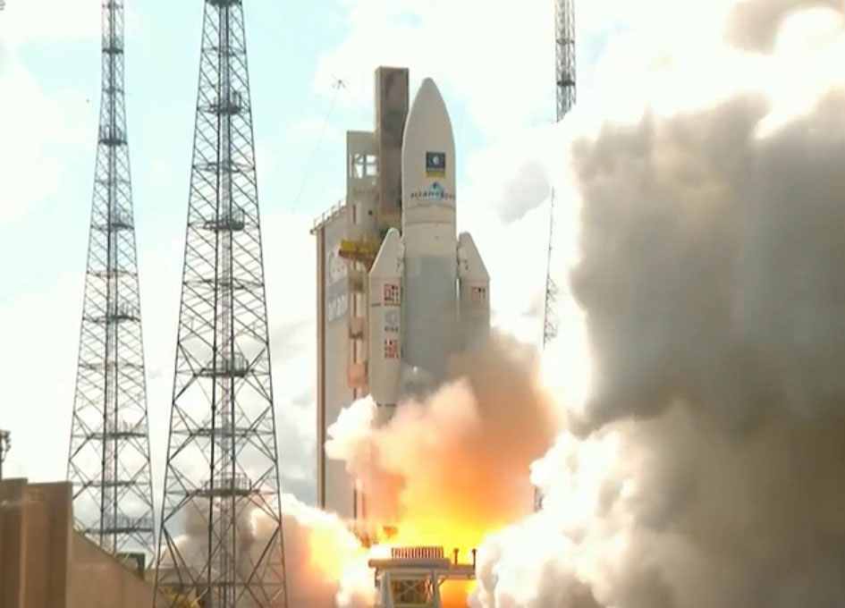 Arianespace Launches Four Galileo Spacecraft for the European Union