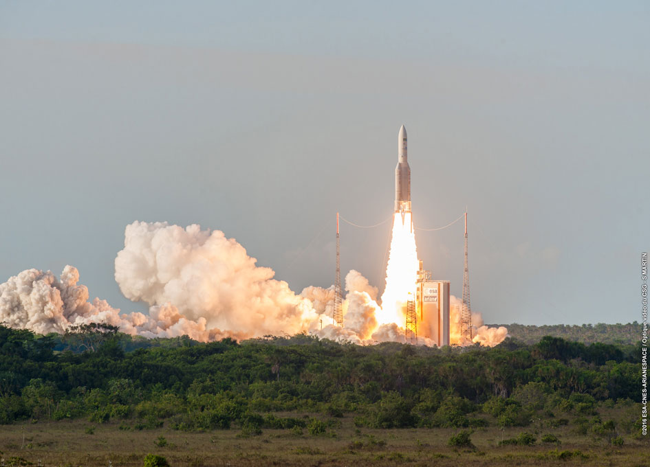 Arianespace Successfully Launches Sky Muster™ II and GSAT-18 Satellites