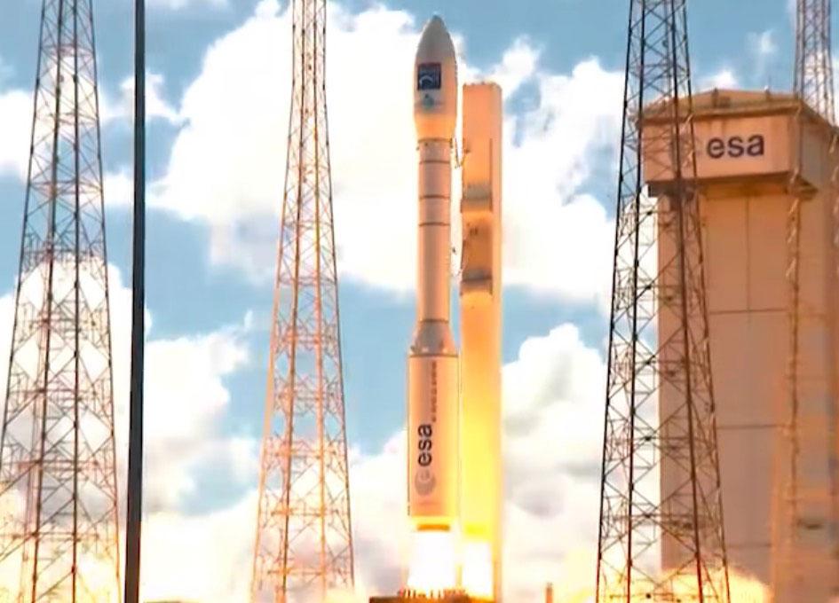 Arianespace Launches Turkish GÖKTÜRK-1 Satellite