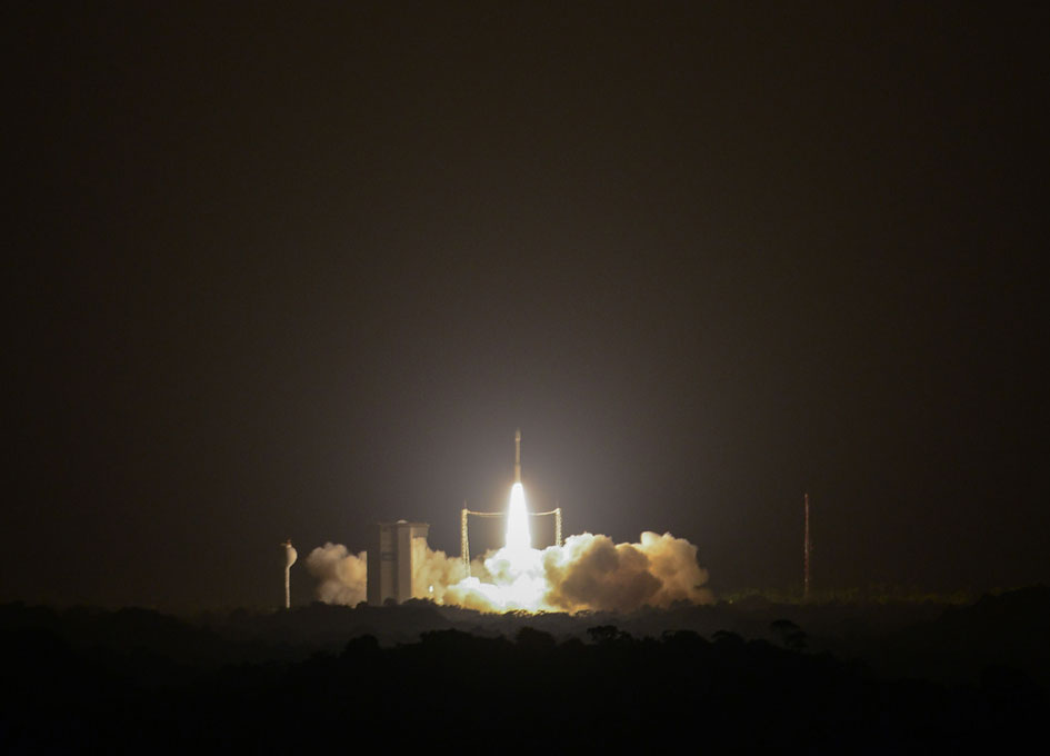 Arianespace Successfully Launches VEGA Rocket with PerúSAT-1 and Four Terra Bella Satellites for Google