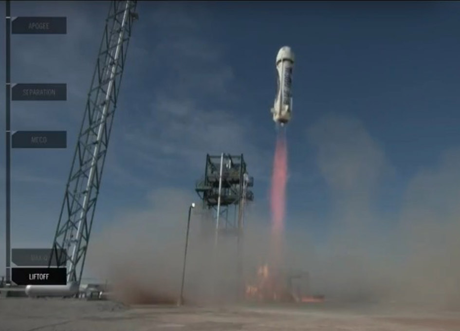 Blue Origin Successfully Launches New Shepard on its 4th Reusable Flight