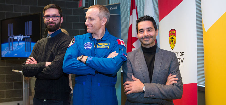 University of Calgary Researchers Partner with the Canadian Space Agency on ISS Health Experiment