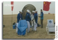 Chinese Astronauts Land Safely After 30 Day Mission