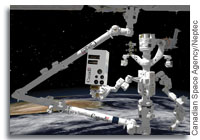 Neptec to Develop a New Advanced Space Vision System for the International Space Station