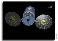 Cygnus Solar Arrays Deployed, Heads to Station