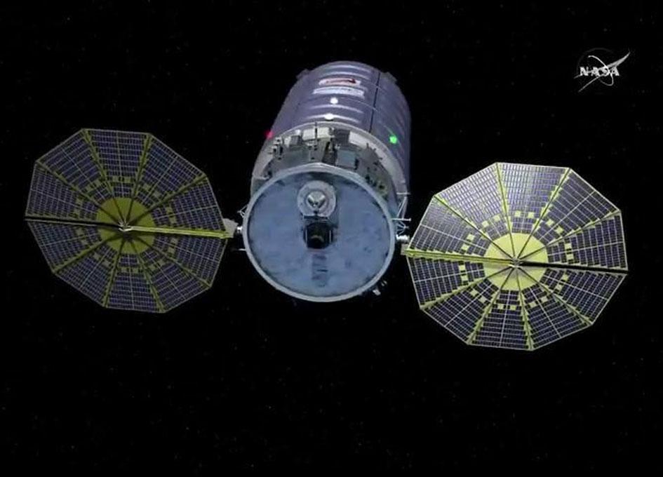 NASA Space Station On-Orbit Status 21 May 2018 - Cygnus Launches
