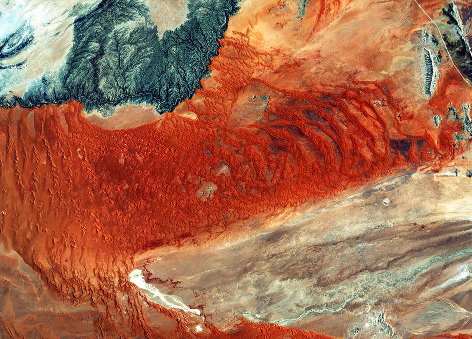 Earth from Space: Naukluft Park, Namibia